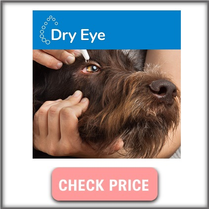 Artificial tear gel for dogs