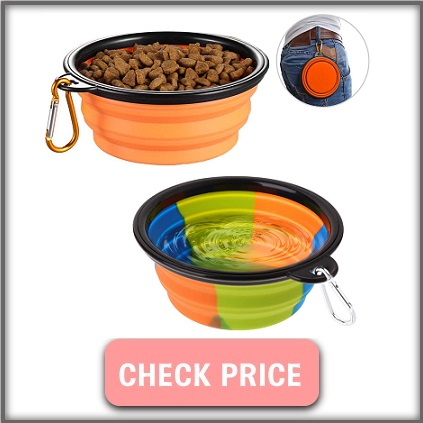 collapsible bowls on Amazon